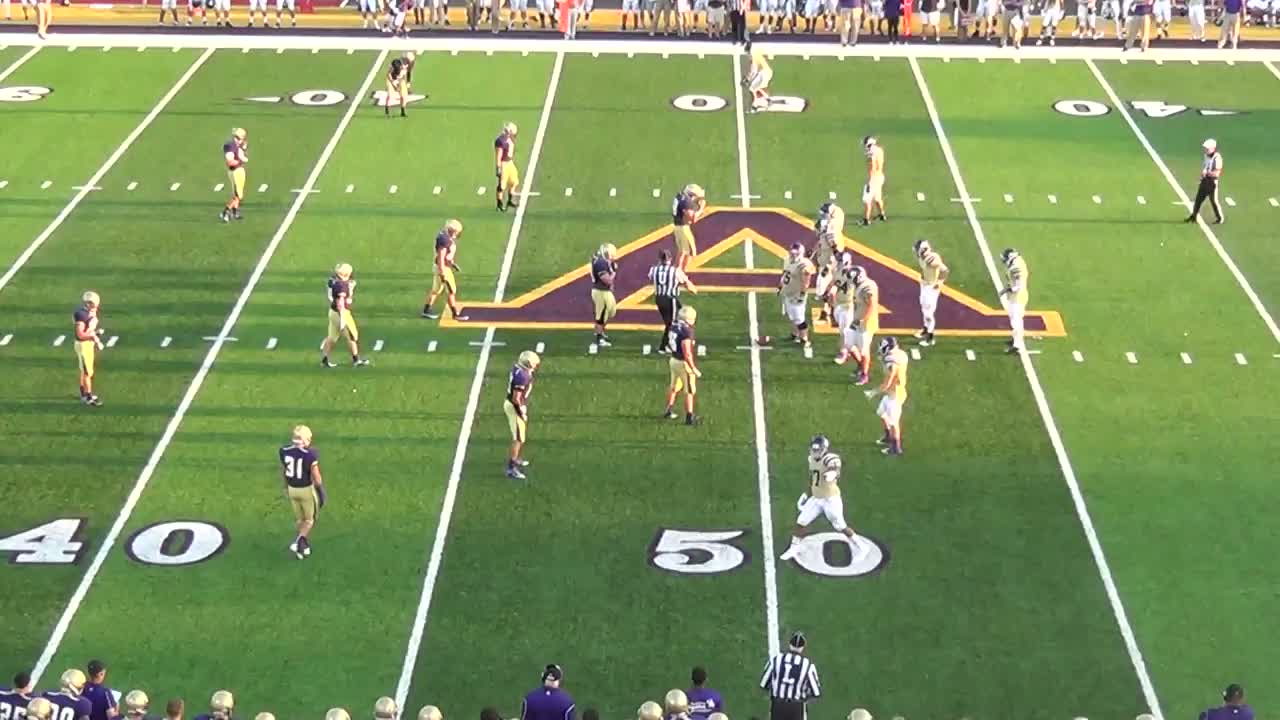 Albion College Football Albion College During The