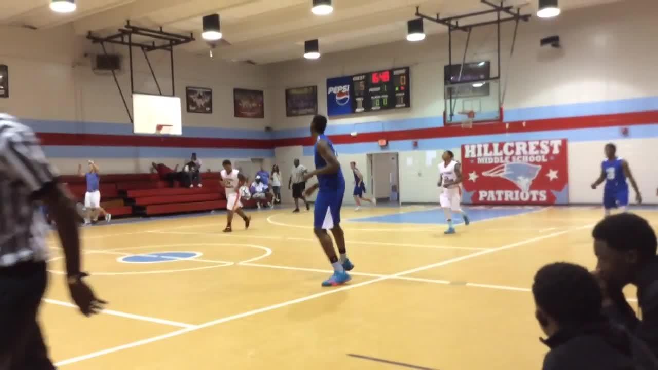 BBA Basketball vs. Lamar County Thunder - Bryce Myles ...