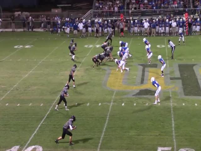 Upperman High School vs. Livingston Academy - Daylen Watts highlights