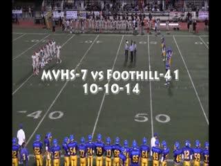 vs. Foothill