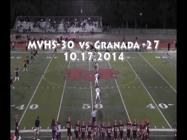 vs. Granada High School