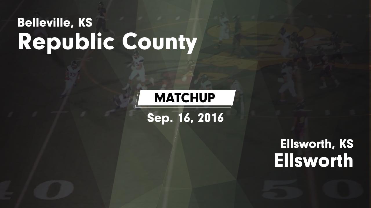 Kansas republic county agenda - Matchup Republic County High Vs Ellsworth 2016